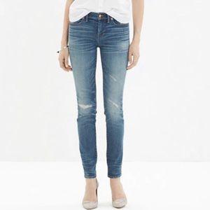 Madewell Skinny Skinny Rip & Repair Jeans Size 27